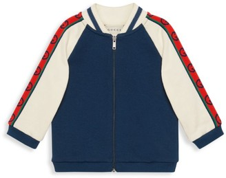 Gucci Baby's & Little Boy's Interlock G Stripe Track Jacket