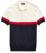 Ralph Lauren Silk-Blend Polo-Collar Sweater