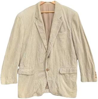 Issey Miyake Grey Velvet Jackets