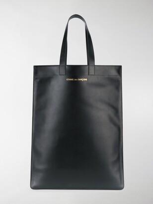Comme des Garcons Logo Print Tote Bag
