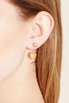 Forever 21 Faux Stone Ear Jackets
