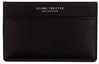 Globe-trotter Jet name card holder Black
