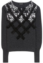 Giambattista Valli Embellished Wool Sweater