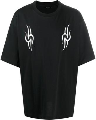 Diesel tribal print T-shirt