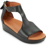 Gentle Souls Jefferson Platform Leather Sandals