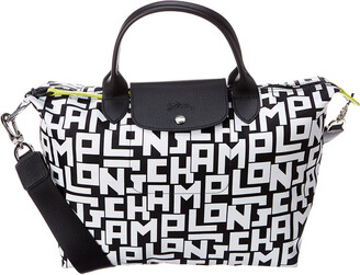 Longchamp Le Pliage Medium Lgp Nylon Short Handle Tote