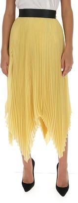 Loewe Asymmetric Pleated Skirt