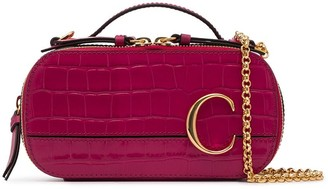 Chloé mini C Vanity crossbody bag