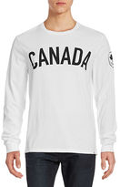 Canadian Olympic Team Collection Men's Canada Maple Leaf L/S T-shirt