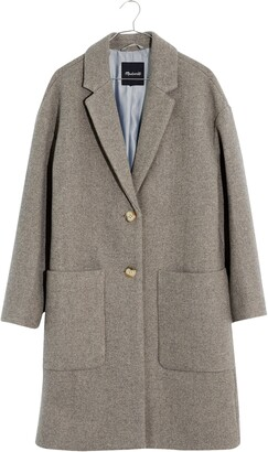 Madewell Elmcourt Coat in Insuluxe Fabric