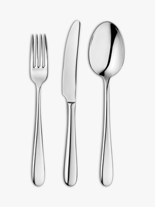 John Lewis & Partners Dome Cutlery Set, 6 Place Settings