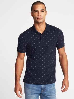 Old Navy Printed Moisture-Wicking Pro Polo for Men
