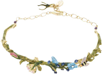 Les Nereides Multicolour Gold plated Bracelets