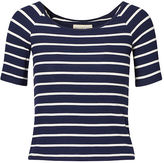 Denim & Supply Ralph Lauren Striped Stretch Jersey Top