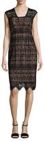 Shoshanna Lace Knee Length Dress