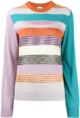 M Missoni Striped Jumper