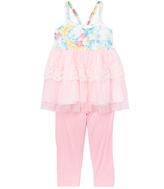 Little Mass Mint & Pink Halter Top & Leggings - Infant & Toddler
