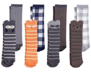 Hudson Baby Knee High Socks, 8-Pack, 0-24 Months