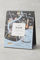Rifle Paper Co. Maps 2017 Desk Calendar