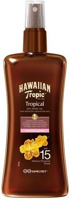 Hawaiian Tropic Protective Oil Spray Spf 15 200Ml