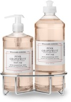 Williams-Sonoma Williams Sonoma Pink Grapefruit Hand Soap & Dish Soap, Classic 3-Piece Set