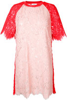 Goen.J lace shift dress