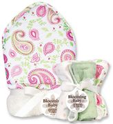 Trend Lab Paisley 6-pc. Hooded Towel & Washcloth Bouquet Set