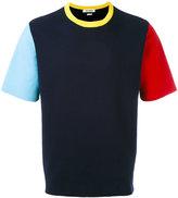 Sunnei knitted colour-block T-shirt - men - Cotton - S