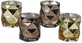 Pols Potten Diamond Set Of 4 Candle Holders