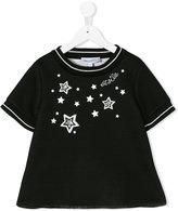 Simonetta star print sweatshirt