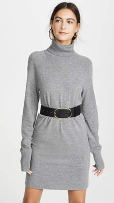 Veronica Beard Saranac Turtleneck Mini Dress