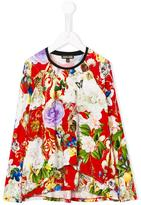 Roberto Cavalli floral print top