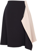Preorder Bouchra Jarrar Rose Poudre Silk Georgette Skirt
