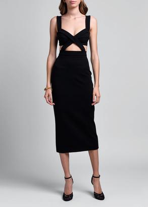 Dolce & Gabbana Sleeveless Jersey Stretch Dress