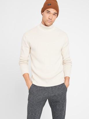 Banana Republic SUPIMA Mock-Neck Sweater