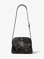 Michael Kors Monogramme Camo Calf Hair Travel Bag