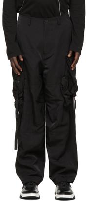 Julius Black Gasmask Cargo Pants