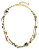 Gurhan Phoenician Beaded Turquoise Necklace, 16-18""