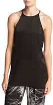 Halston High-Neck Racerback Camisole Tunic