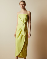 Ted Baker LAANI Knot detail drape dress