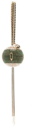 Rosantica Carambola Crystal-embellished Spherical Bag - Green Multi