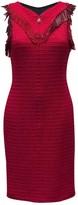 Chanel Red Wool Dress for Women