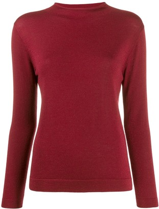 N.Peal mock neck jumper