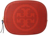 Tory Burch Logo Perforated Cosmetic Case