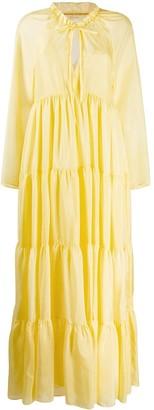 Ermanno Scervino Tiered Maxi Dress