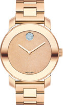 Movado 3600335 Bold rose-gold ion-plated stainless steel watch