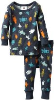 Tea Collection Baby-Boys Infant Robotti Pajama