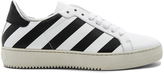 Off-White Classic Diagonals Sneakers