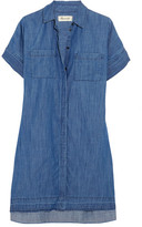 Madewell Denim Shirt Dress - Blue
