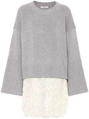Dorothee Schumacher Wool and cashmere-blend sweater